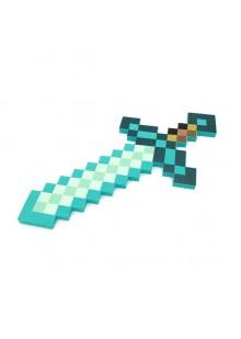 Алмазный зачарованный меч Майнкрафт