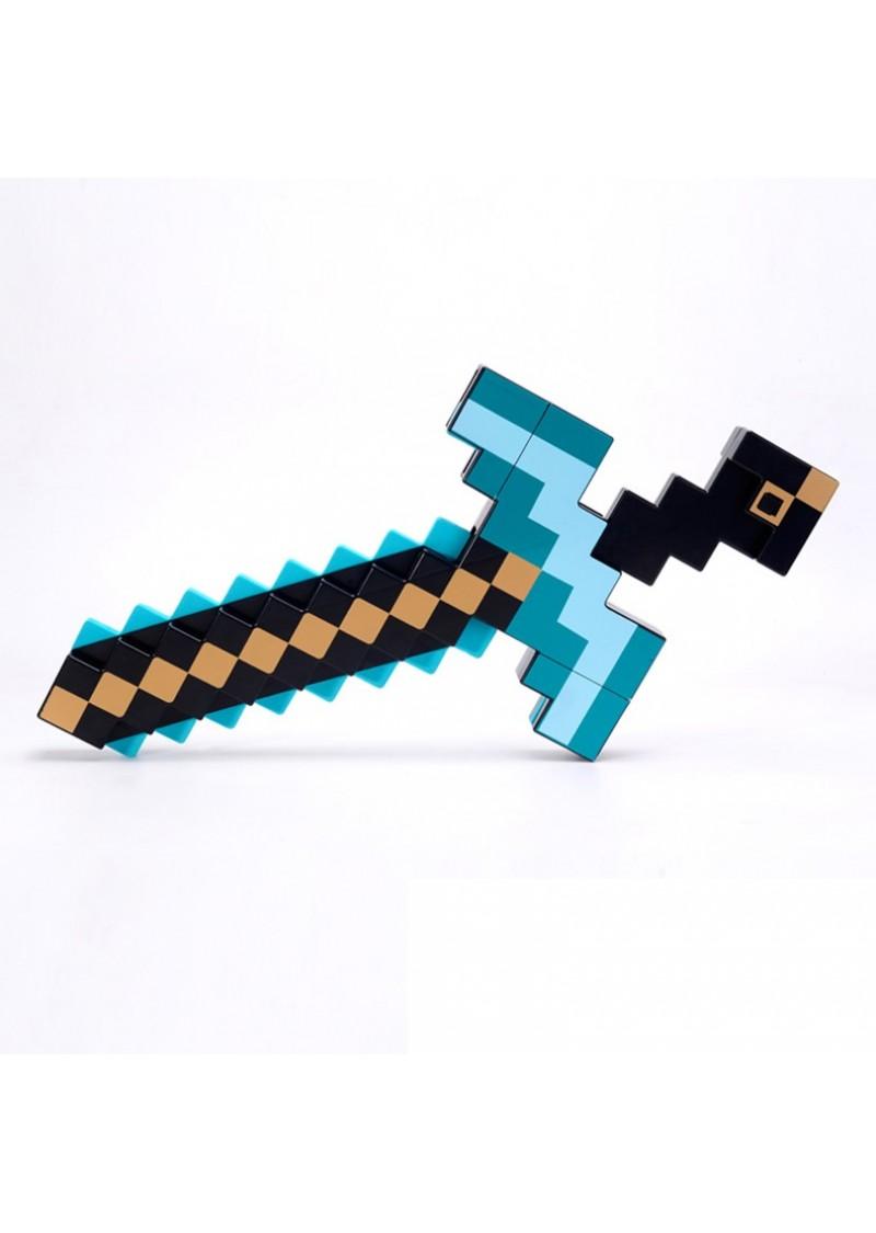 Алмазная кирка-меч трансформер 2 в 1 Манкрафт
