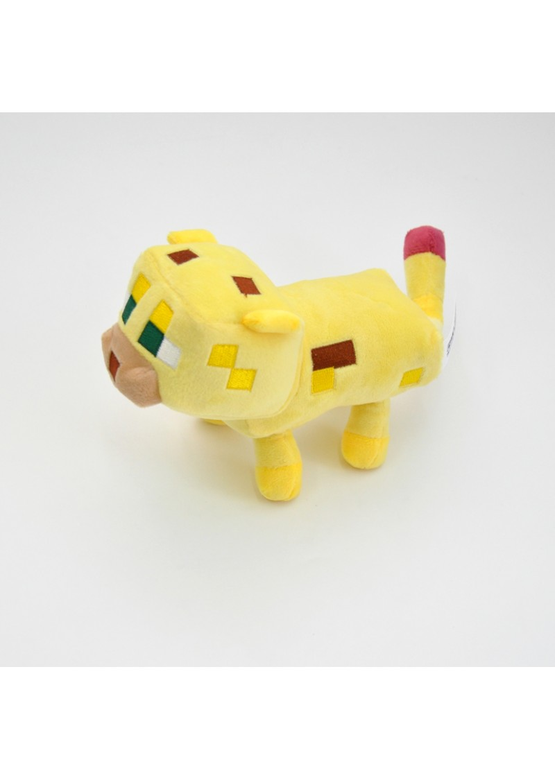 Оцелот 15 см мягкая игрушка из Майнкрафт (Minecraft Ocelot)