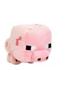 Поросенок 15 см мягкая игрушка из Майнкрафт (Minecraft Baby Pig)