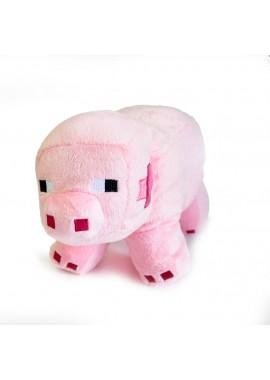 Поросенок 26 см мягкая игрушка из Майнкрафт