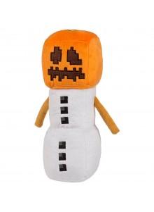 Снеговик 18 см мягкая игрушка из Майнкрафт
