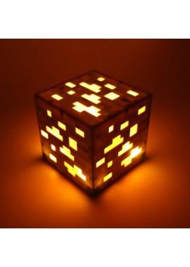 Лампа Золотая руда Майнкрафт Minecraft Light Up Orange Ore