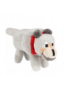 Волк большой 36 см мягкая игрушка из Майнкрафт