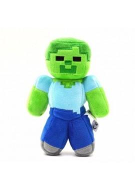 Зомби 18 см мягкая игрушка из Майнкрафт