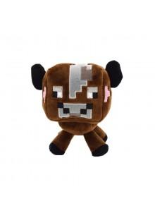Коричневая грибная корова 16 см мягкая игрушка из Майнкрафт (Minecraft Baby Mushroom)