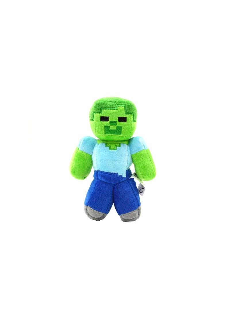 Зомби 21 см мягкая игрушка из Майнкрафт