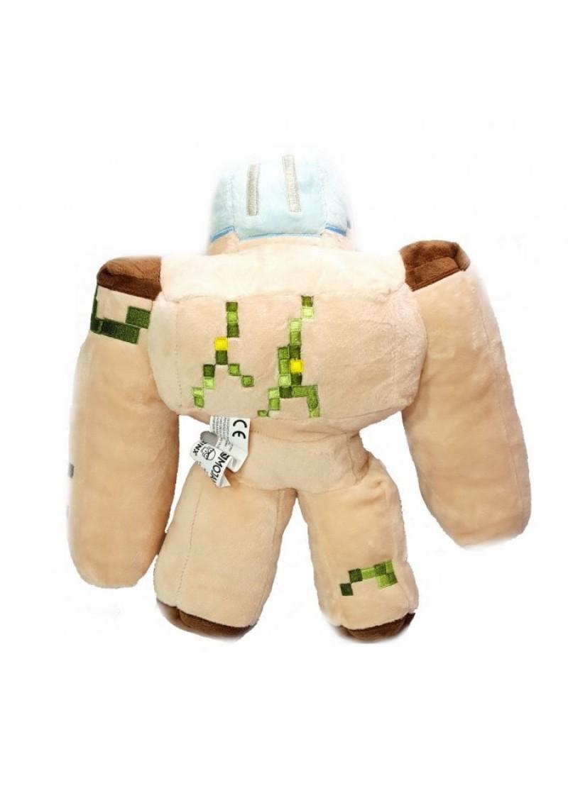 Железный голем 32 см мягкая игрушка из Майнкрафт