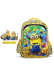 Рюкзак детский Миньоны желтый