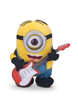 Миньон Стюарт с гитарой плюшевый анимационный
