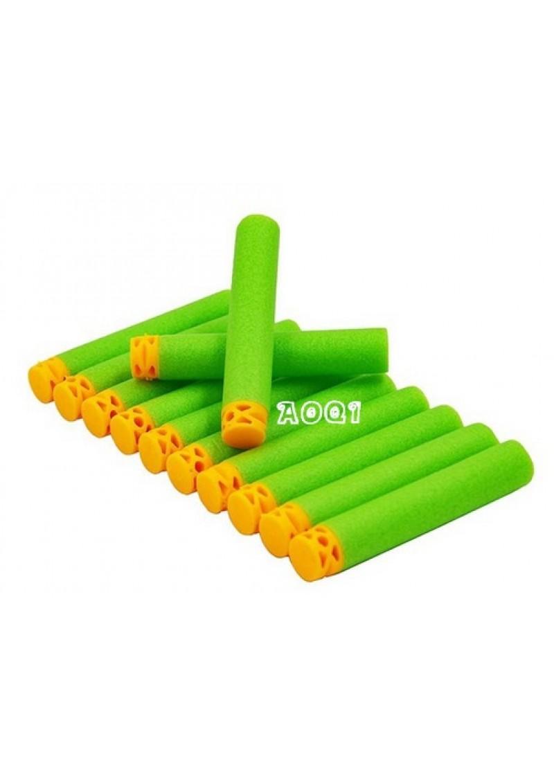 Патроны для Нерф, зеленые, комплект 100 шт