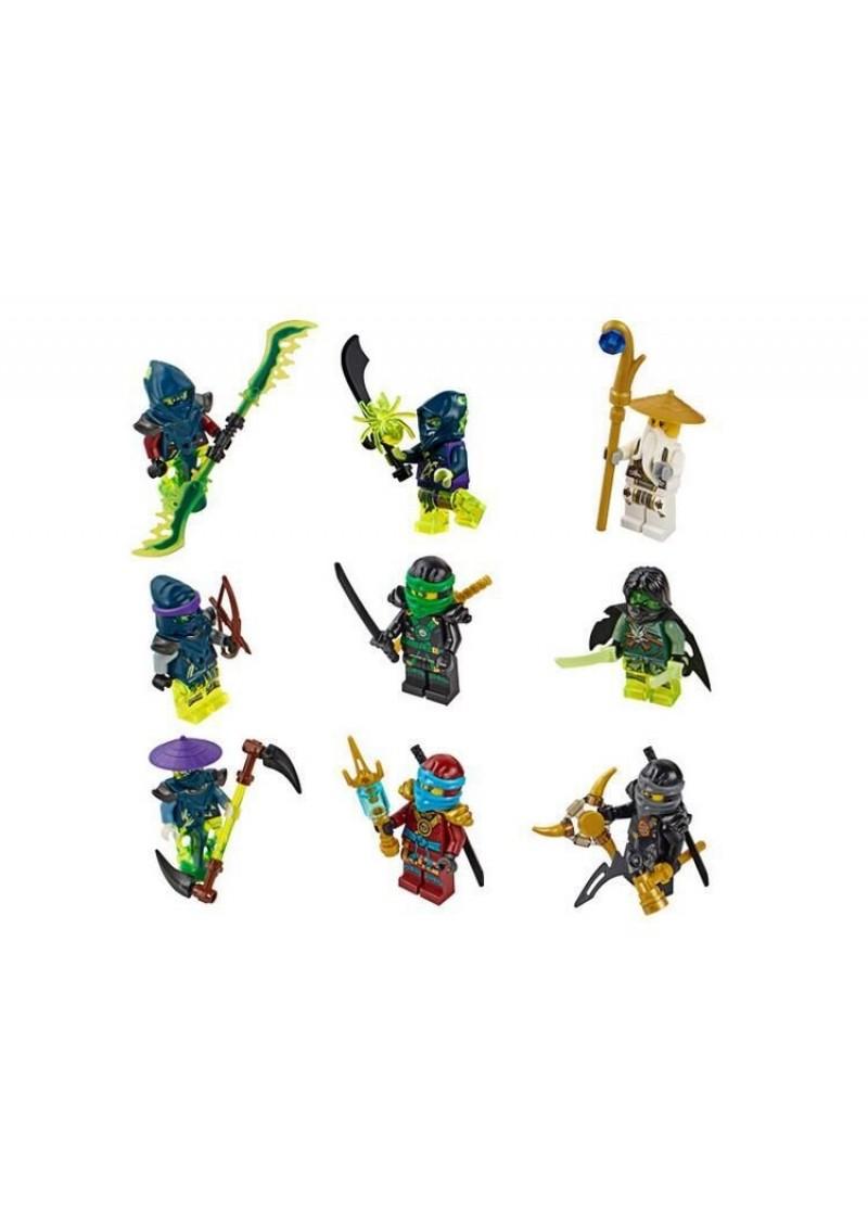 Lego ninjago корабль дар судьбы