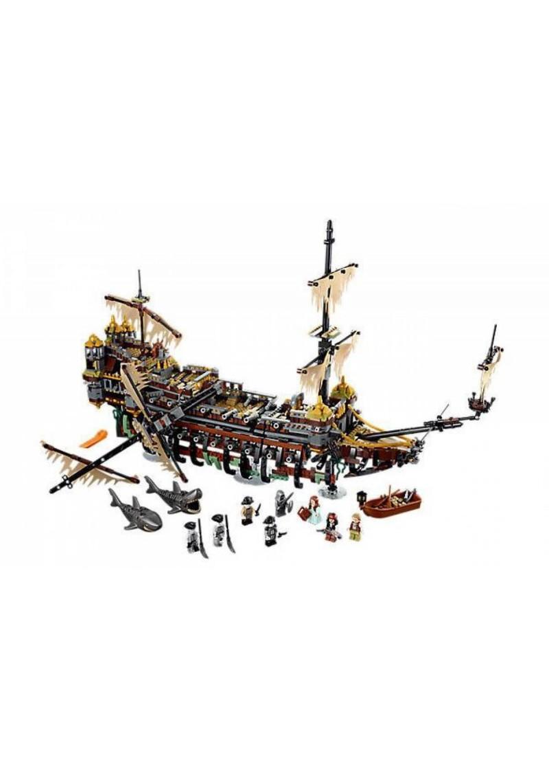 "Конструктор Pirates ""Корабль Безмолвная Мэри"" Lepin 16042 аналог Лего 71042"