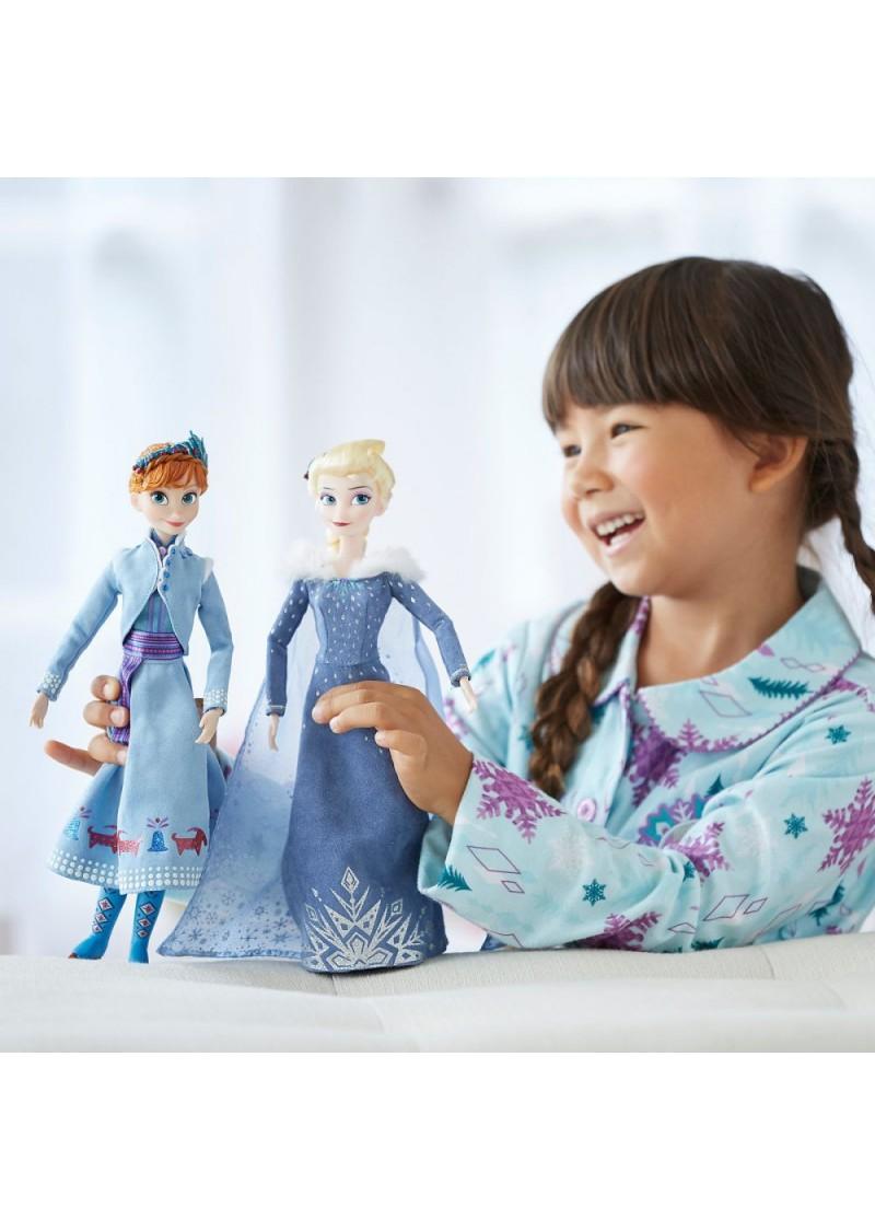 """Куклы Анна и Эльза набор """"Олаф и холодное приключение"""""""