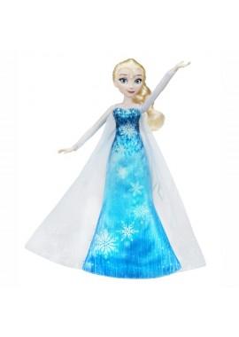 Кукла Эльза в музыкальном платье