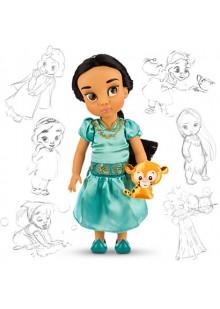 Жасмин кукла в детстве, коллекция Дисней Аниматорс