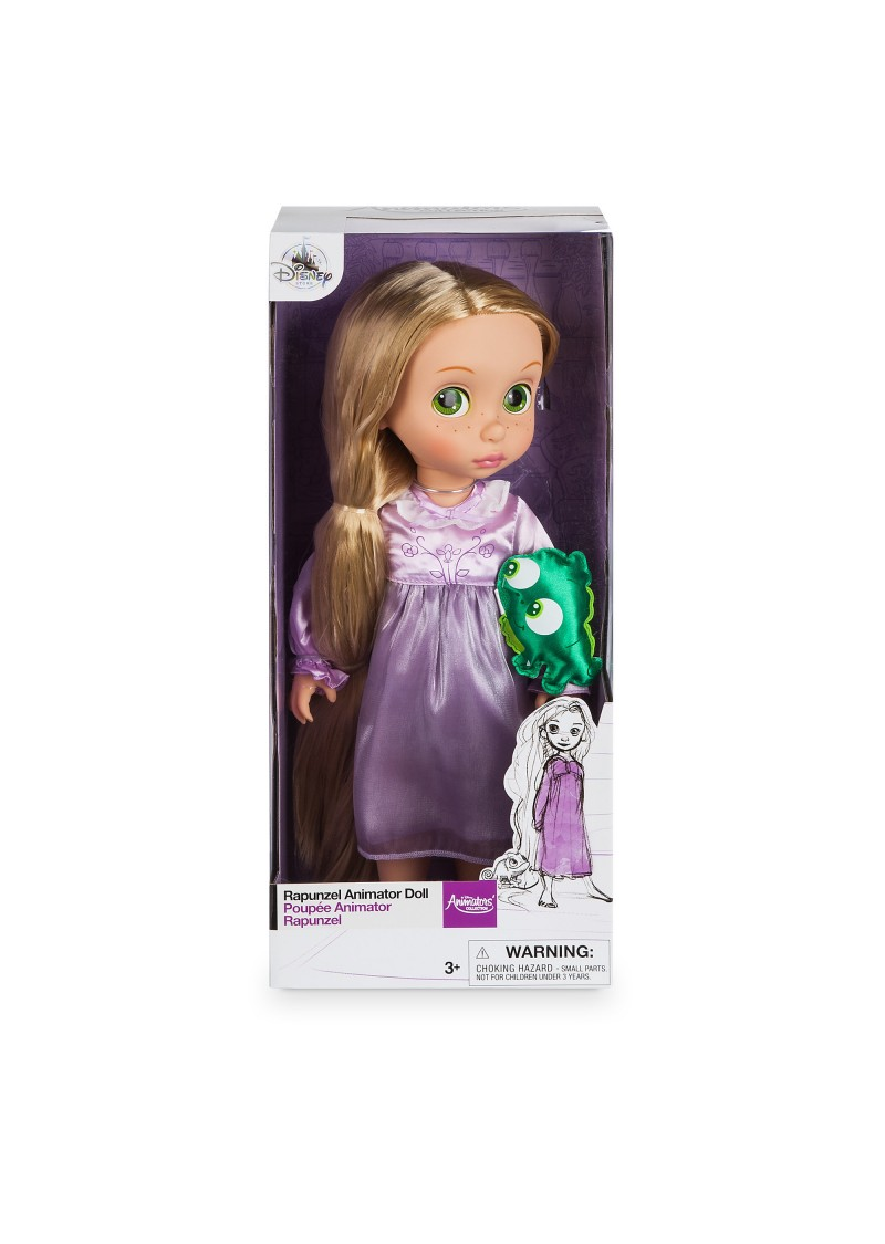 Малышка Рапунцель кукла