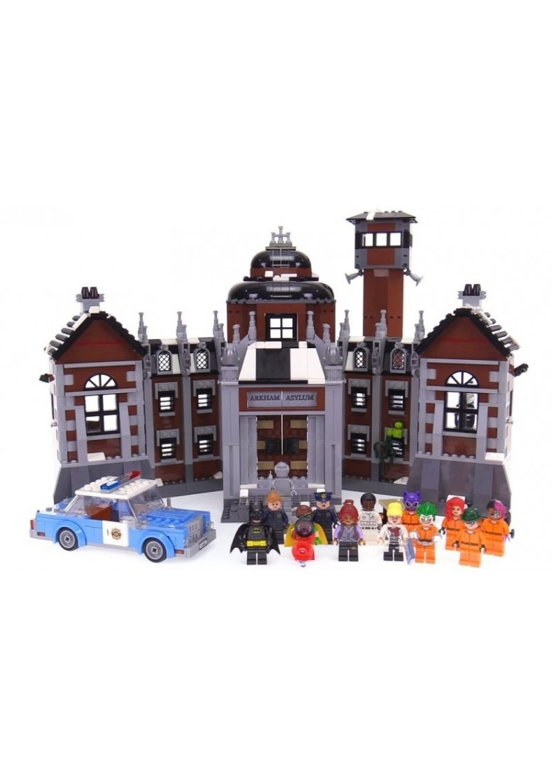 "Конструктор Бэтмен ""Лечебница Аркхэм"" Bela 10741 аналог Лего 70912"