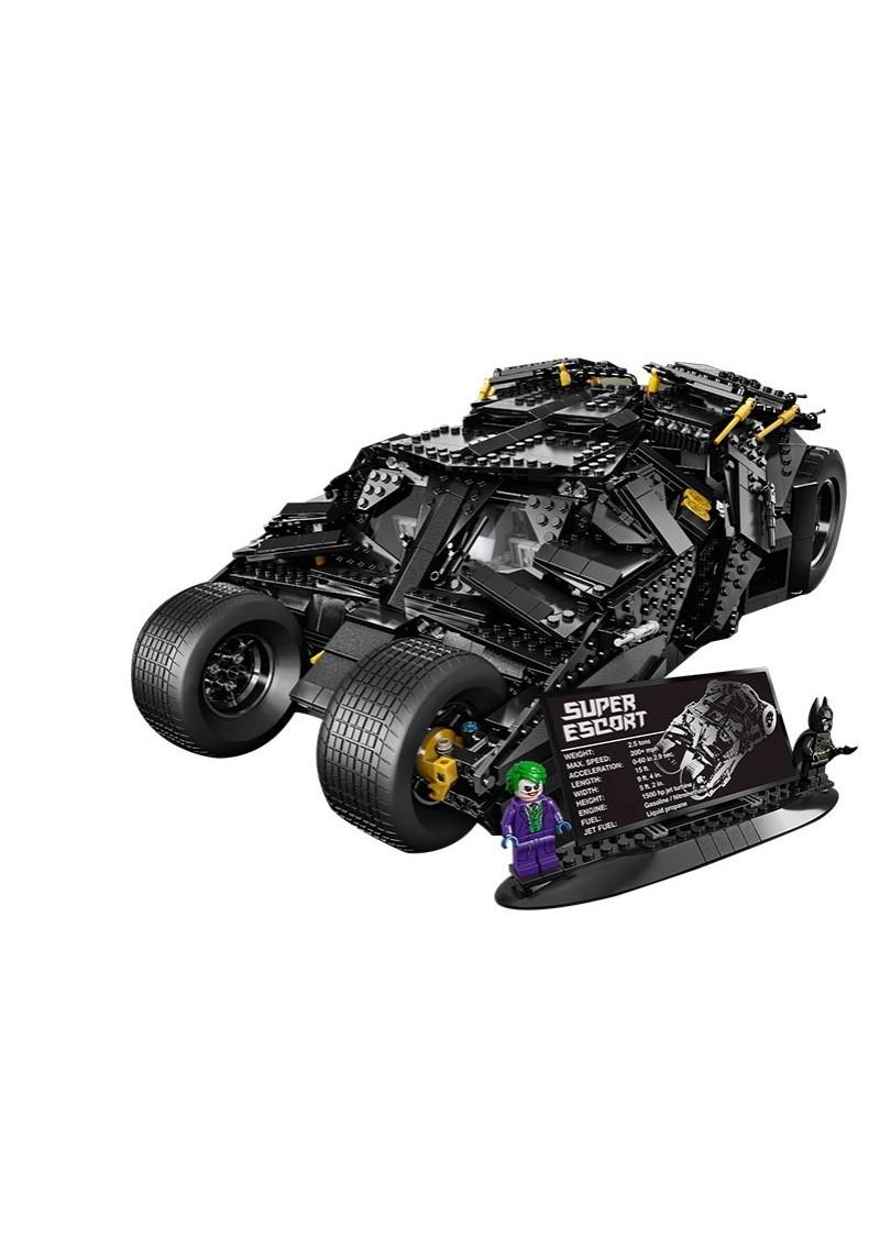 "Конструктор Супергерои ""Бэтмобиль The Tumbler"" Lepin 07060 аналог Лего 76023"