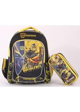 Рюкзак дошкольный Бамблби 30 см с пеналом