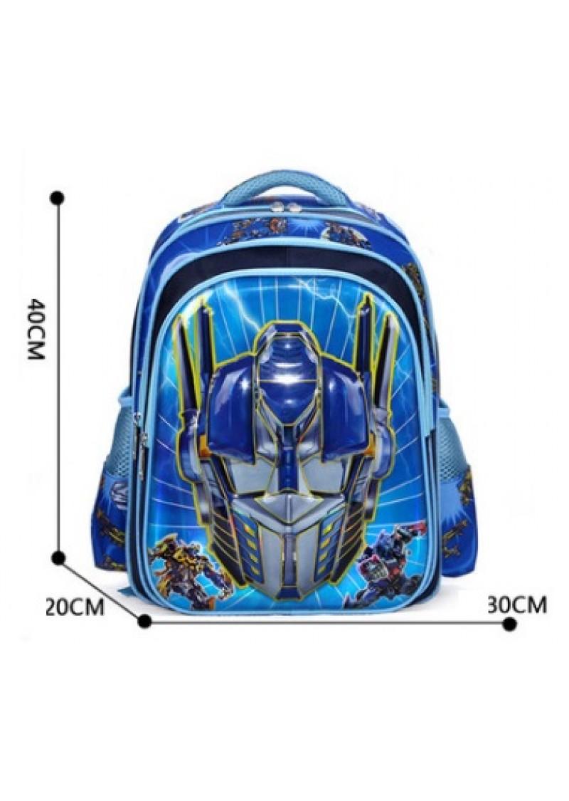 Рюкзак детский Трансформеры Оптимус Прайм синий
