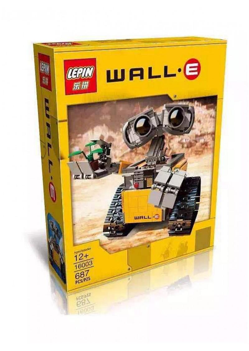 """Конструктор """"Валл-И Wall-E"""" Lepin 16003 аналог Лего 21303"""